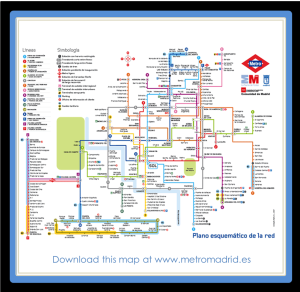 Madrid Metro Map. The closest stations to VillaJardines are Gran Via, Sol and Sevilla.
