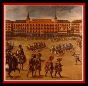 The Plaza Mayor was built in 1640 and is 10 minutes walking from VillaJardines.