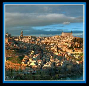 Toledo is part of the world heritage