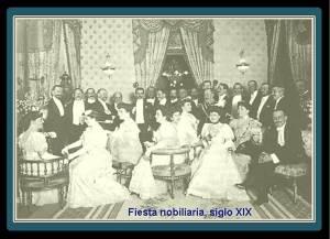 07. Reunión aristocratica siglo XIX Madrid