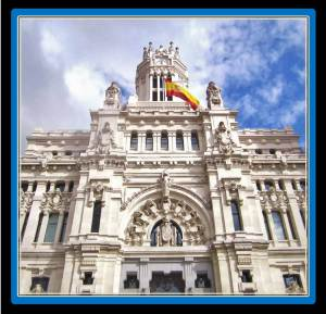 Madrid's Town Hall hosts Centro Centro and is 10 minutes walking from VilllaJardines