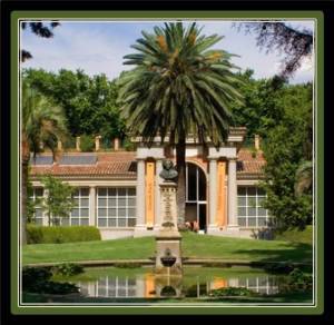 The Botanical Gardens are 15 minutes walking from VilllaJardines (photo from gardenvisit.com)