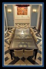 This same floor design can be found in the lovely Museum of Cerralbo, another museum definitely worth visiting and also 15 minutes walking, in the oppostite direction of the Romantic Museum.