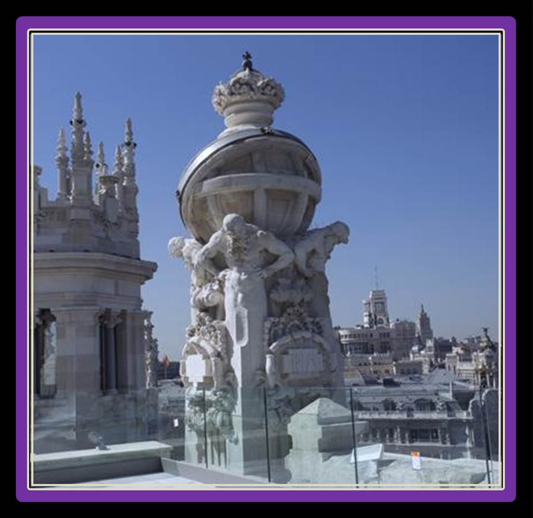 Great views the madrid experience for Terraza ayuntamiento madrid