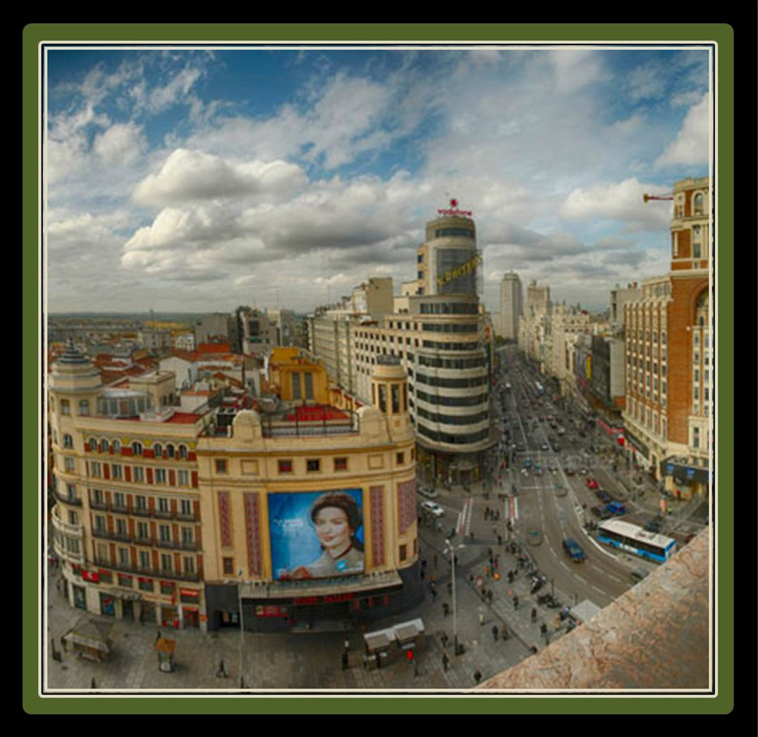Great views the madrid experience for El corte ingles callao