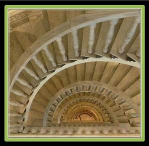 Do you dare to walk up the funky marble stairs?. If you like them, you should see the elevator (photo from tripadvisor.in)